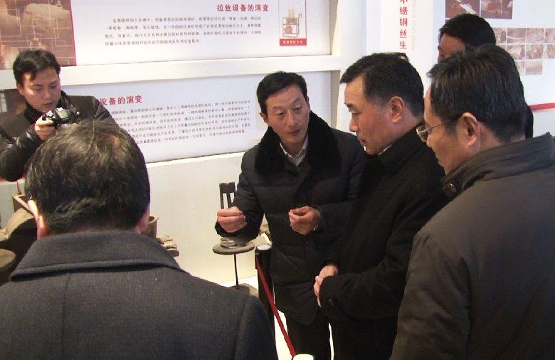 泰州市市長陸志鵬蒞臨星火參觀指導